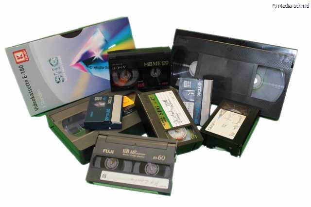 Vhs kassette digitalisieren